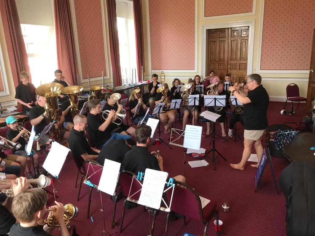 Sectional Rehearsals - Both bands combined